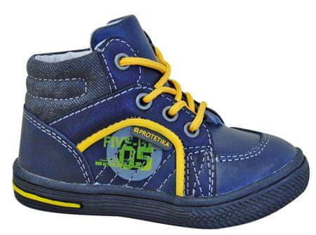 Protetika chlapčenské členkové topánky Edgar 20 modrá