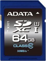 A-Data SDXC Premier 64GB UHS-I (ASDX64GUICL10-R)