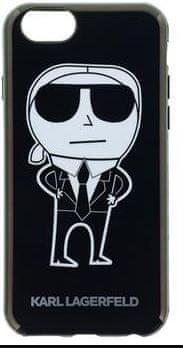 Karl Lagerfeld TPU K-Team fekete tok iPhone 6 / 6S KLHCP6HTKKA készülékhez.