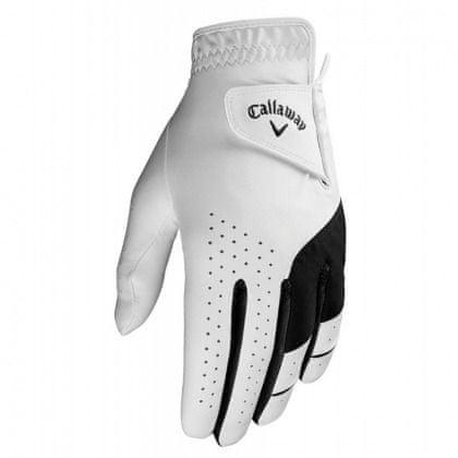 Callaway dámské Weather Spann Golf rukavice Bílá Levá (pro praváky) S