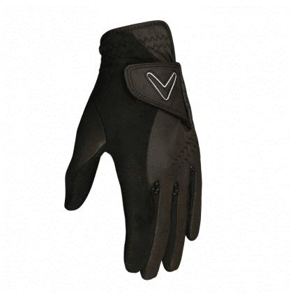 Callaway Opti Grip Golf rukavice - pár Černá Pár (na obě ruce) ML