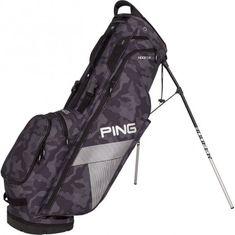 Ping Hooferlite 181 Golf Stand Bag Camouflage šedá