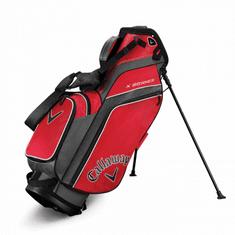 Callaway X Series Stand Bag červená-šedá