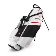 Callaway Hyper Lite Zero Stand Bag bílá-černá