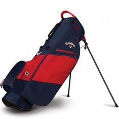 Callaway Hyper Lite Zero Stand Bag modrá-červená