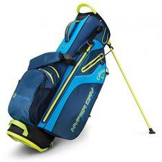 Callaway Hyper Dry Fusion Stand Bag modrá-žlutá
