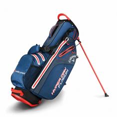 Callaway Hyper Dry Fusion Stand Bag modrá-šedá-oranžová