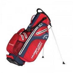 Callaway Hyper Dry Fusion Stand Bag červená-modrá-bílá
