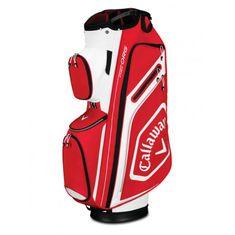 Callaway Chev Org Cart Bag červená-bílá