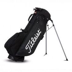Titleist Players 4+ Stand Bag černá-bílá-červená černá
