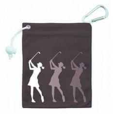Girls Golf Tee & Accessory Bag černá