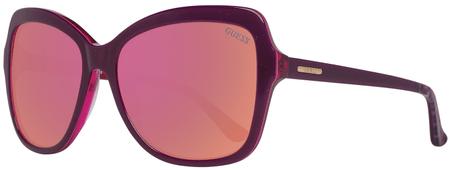 Guess dámské fialové sluneční brýle