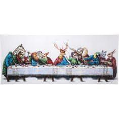 KARE Obraz s ručními tahy Last Supper 100x240cm