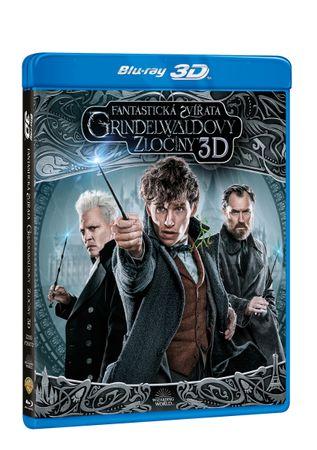 Fantastická zvířata: Grindelwaldovy zločiny 3D+2D (2 disky) - Blu-ray