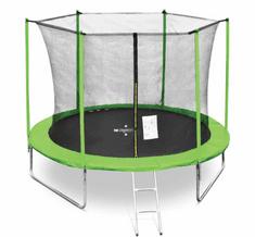 Legoni trampolin z zaščitno mrežo in lestvijo TL19-425LE, 425 cm