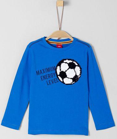 s.Oliver chlapecké tričko 92 - 98 modrá