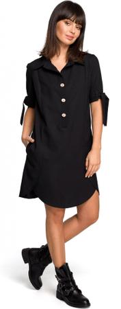 781ccef121 BeWear női ruha M fekete | MALL.HU