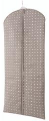Compactor Pokrowiec Rivoli na garnitury i długą sukienkę, brązowy