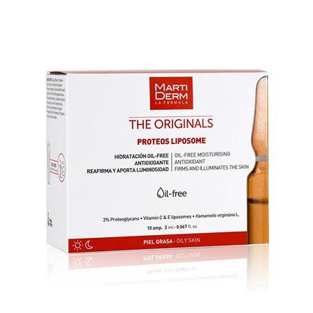 Martiderm Ampule vitamina C in E za Proteos Liposome v kombinaciji 10 x 2 ml in mastno kožo