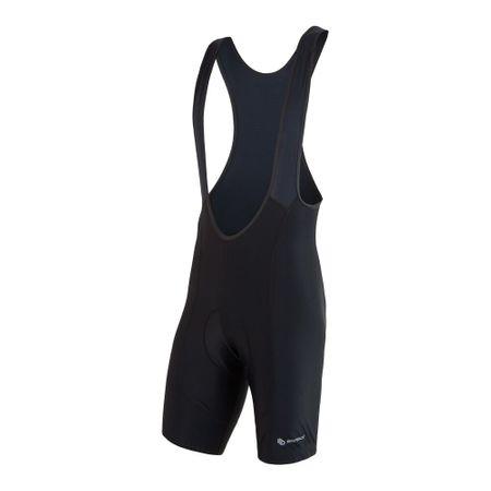 Sensor Cyklo Entrypánske nohavice krátke s trakmi čierna