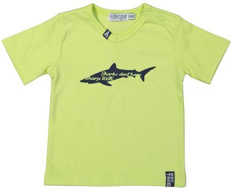 Dirkje fantovska majica Neon, 86, rumena