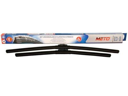 METO Rugalmas ablaktörlő lapát készlet 600/475mm METO