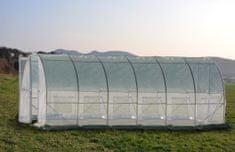 Greenhouse rastlinjak s kovinskimi vrati, 6x3x2,3m (9436)