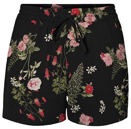 Vero Moda Női rövidnadrág Simply Easy Nw Shorts Black Laila (méret L)