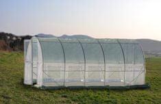 Greenhouse rastlinjak s kovinskimi vrati, 5x3x2,3m (9435)