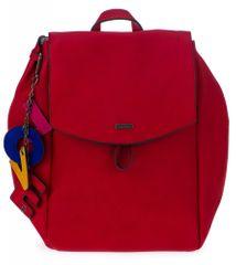 Tamaris dámský červený batoh Lorella