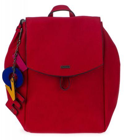 Tamaris plecak damski Lorella, czerwony