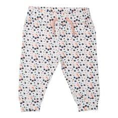 Dirkje spodnie dresowe dziewczęce w kropki