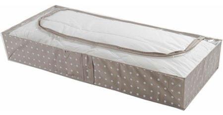 Compactor nizka škatla za shranjevanje tekstila, rjava