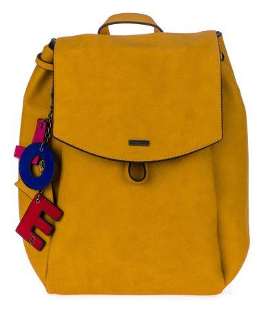 Tamaris dámský žlutý batoh Lorella
