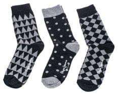 Pepe Jeans trojité balení pánských ponožek Vern