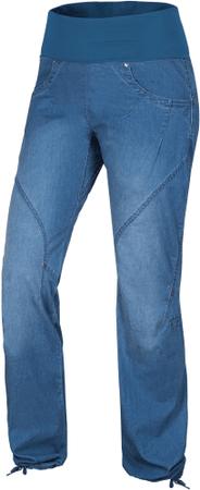 Ocun ženske plezalne hlače Noya Jeans Middle Blue, L
