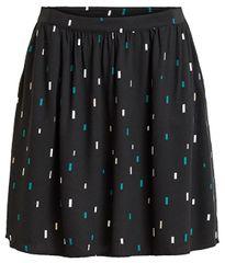 VILA Dámská sukně Planta Suane Skirt Black