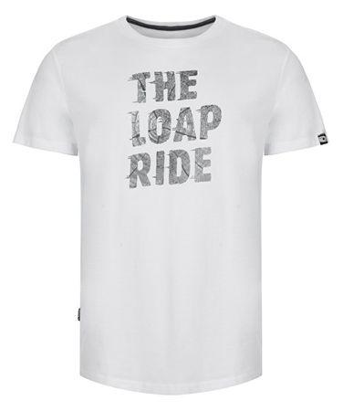 Loap Pánské triko Antony Brg White Grey CLM1919-A14T (Velikost L)