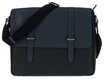 Smith & Canova férfi sötétszürke crossbody táska
