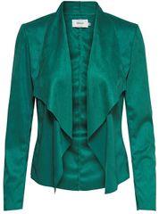 ONLY Dámské sako Fleur Drapy Faux Suede Jacket Cadmium Green