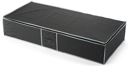 Compactor Textilní úložný box na oblečení pod postel, černý