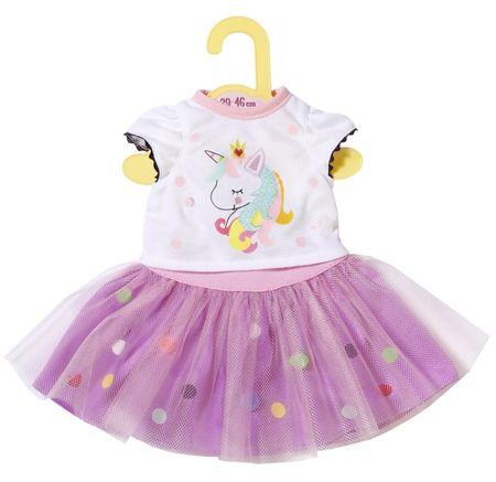 ZAPF CREATION Dolly Moda póló tütü szoknyával 43 cm