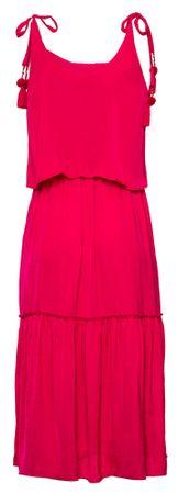 Pepe Jeans dámské šaty Larisa S růžová