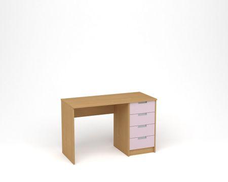 ANTERIA Psací stůl, buk/levand
