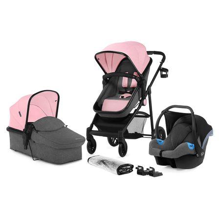 KinderKraft JULI 3V1 Pink - rozbaleno