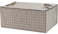 Compactor Textilní úložný box Rivoli, hnědý