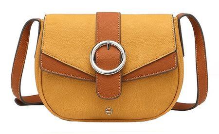Tamaris Női crossbody kézitáska Amanda Crossbody Bag S 3051191-604 Yellow Comb