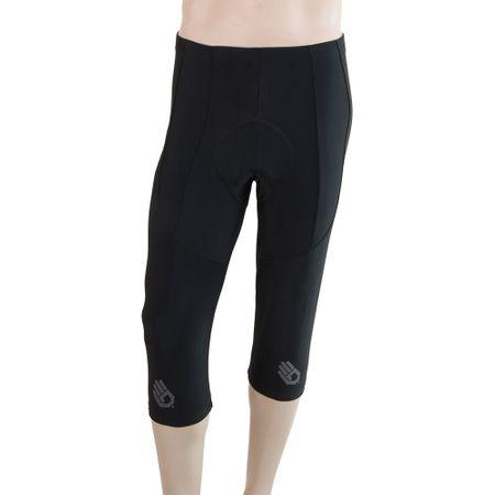 Sensor moške hlače Cyklo Race, 3/4, črne, M