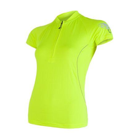 Sensor ženska majica Cyklo Entry, rumena, S