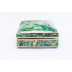 KARE Dekorativní box Malachite